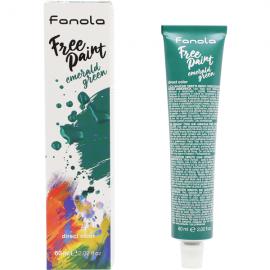 Fanola Free Paint Direct Colour Emerald Green - 60ml